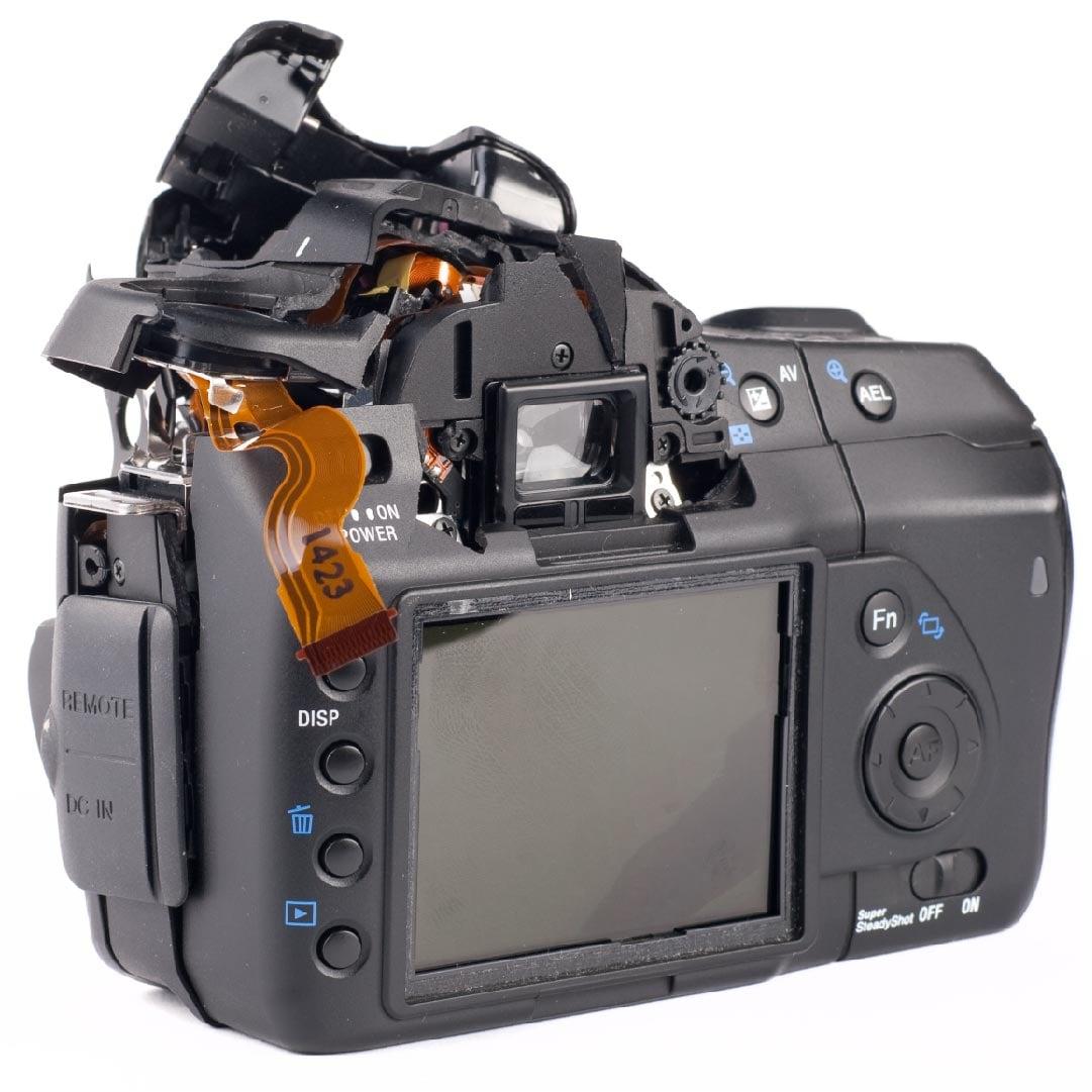 Digitális fényképezőgép javítás